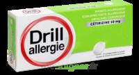 DRILL 10 mg Comprimés à sucer allergie cétirizine Plq/7 à  VIERZON