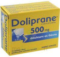 Doliprane 500 Mg Poudre Pour Solution Buvable En Sachet-dose B/12 à  VIERZON