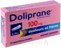 Doliprane 100 Mg Suppositoires Sécables 2plq/5 (10) à  VIERZON