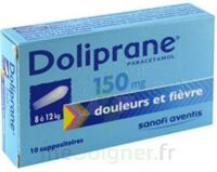Doliprane 150 Mg Suppositoires 2plq/5 (10) à  VIERZON