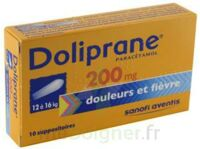 DOLIPRANE 200 mg Suppositoires 2Plq/5 (10) à  VIERZON