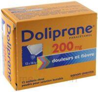Doliprane 200 Mg Poudre Pour Solution Buvable En Sachet-dose B/12 à VIERZON