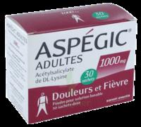 ASPEGIC ADULTES 1000 mg, poudre pour solution buvable en sachet-dose 30 à  VIERZON