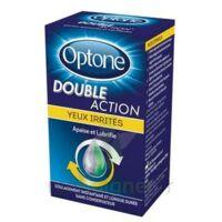 Optone Double Action Solution Oculaire Yeux Irrités Fl/10ml à  VIERZON