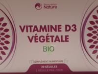 Prescription Nature Vitamine D3 Végétale Bio B/30 à  VIERZON