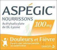 ASPEGIC NOURRISSONS 100 mg, poudre pour solution buvable en sachet-dose à  VIERZON