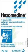 HEXOMEDINE 1 POUR MILLE, solution pour pulvérisation cutanée en flacon pressurisé à  VIERZON