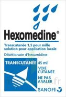 HEXOMEDINE TRANSCUTANEE 1,5 POUR MILLE, solution pour application locale à  VIERZON