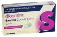 DIOSMINE SANDOZ CONSEIL 600 mg, comprimé pelliculé à  VIERZON