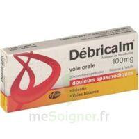 DEBRICALM 100 mg, comprimé pelliculé à  VIERZON