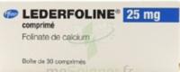 LEDERFOLINE 25 mg, comprimé à  VIERZON
