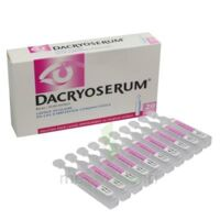 DACRYOSERUM Solution pour lavage ophtalmique en récipient unidose 20Unidoses/5ml à  VIERZON