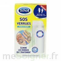 Scholl SOS Verrues traitement pieds et mains à  VIERZON