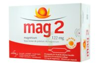 MAG 2 122 mg S buv en ampoule sans sucre édulcoré à la saccharine sodique 30Amp/10ml à  VIERZON