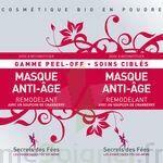 Secrets des Fées Masque Anti-Age Remodelant Peel-Off à  VIERZON
