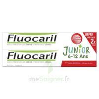 Fluocaril Junior Gel dentifrice Fruits rouges 6/12ans 2*75ml à  VIERZON