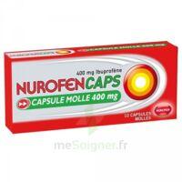 Nurofencaps 400 Mg Caps Molle Plq/10 à VIERZON