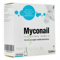 MYCONAIL 80 mg/g, vernis à ongles médicamenteux à  VIERZON