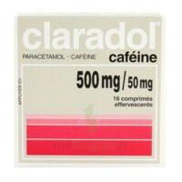 Claradol Cafeine 500 Mg/50 Mg, Comprimé Effervescent à VIERZON