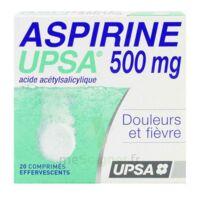 Aspirine Upsa 500 Mg, Comprimé Effervescent à  VIERZON