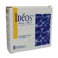 Ideos 500 Mg/400 Ui, Comprimé à Sucer Ou à Croquer à  VIERZON