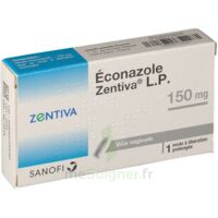 ECONAZOLE ZENTIVA LP 150 mg, ovule à libération prolongée à  VIERZON