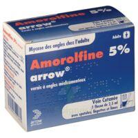 AMOROLFINE ARROW 5 % V ongles médicamenteux 1Fl/2,5ml+30spat à  VIERZON