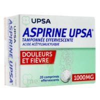 Aspirine Upsa Tamponnee Effervescente 1000 Mg, Comprimé Effervescent à  VIERZON