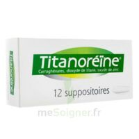 TITANOREINE Suppositoires B/12 à  VIERZON