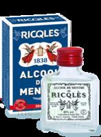 Ricqles 80° Alcool de menthe 30ml à  VIERZON