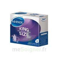 Manix King Size Préservatif avec réservoir lubrifié confort B/3 à  VIERZON
