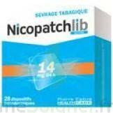 Nicopatchlib 14 Mg/24 H Dispositifs Transdermiques B/28 à  VIERZON