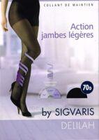 SIGVARIS DELILAH FR chaussettes 70D marine T3