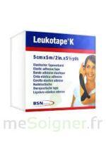 LEUKOTAPE K Sparadrap noir 5cmx5m à  VIERZON