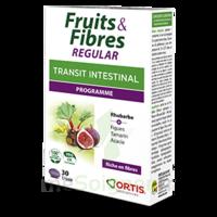 Ortis Fruits & Fibres Regular Comprimés B/30 à VIERZON