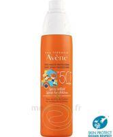 Avène Eau Thermale Solaire Spray Enfant 50+ 200ml à  VIERZON
