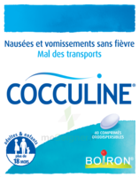 Boiron Cocculine Comprimés Orodispersibles B/40 à  VIERZON